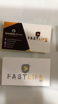 Standard Glossy Business Cards