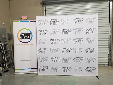 Pop-Up Banners - Fabric Backdrop