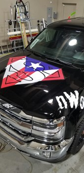 Custom Vehicle Decals & Lettering